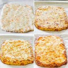 Cheesy Cauliflower Breadsticks http://www.jocooks.com/healthy-eating/cheesy-cauliflower-breadsticks/