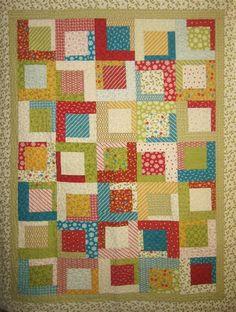 Taffy Pull Quilt free pattern