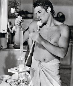 Richard Gere in re-make of Breathless.  Have to find a pic of him in American Gigolo.