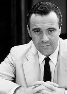 Jack Lemmon in a scene from the play Face of a Hero, 1960