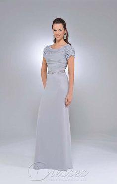 £84 Best Sheath Floor-length Scoop Light Sky Blue Chiffon Dress 27-pro-hsha_en_7_27_31 - Dressesonlineshops.co.uk
