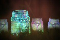 Glow Stick Jar Lantern (just keep the goo from kids)
