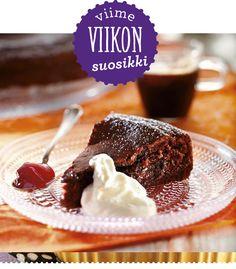 """""""Täydellinen kakku tuli"""", kommentoi lukijamme tätä maku.fi:n suosituinta mutakakkureseptiä."""