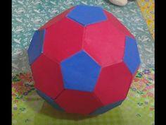 466.축구공만들기.오월의장미.origami.종이접기.종이공예 - YouTube Origami Ball, Hobbies And Crafts, Soccer Ball, Diy For Kids, Paper, Angel, Youtube, Stars, Crafting