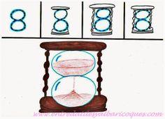 El 8: Un antiguo reloj de arena