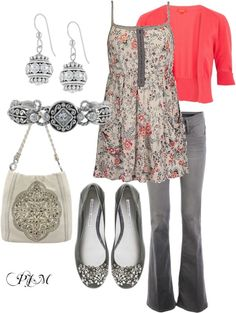 """Girl's Luncheon"" by pjm27 on Polyvore"