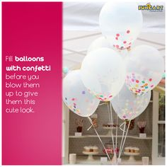 DIY party décor tip #4 www.funcart.in #funcart #decortips #funtips #perfecthome