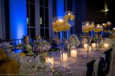 Royal Blue & Yellow Summer Wedding in Miami: Isabele + Valere