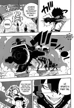 Wahl Icht a punto de disparar contra Fairy Tail - Fairy Tail Manga 461