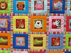 Child's quilt.0oohhhh i think i might have to make one like this