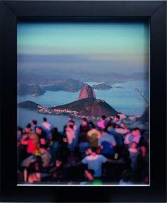 Artista: Claudio Edinger Título: Plate 1 - Vista Corcovado Dimensões: 50 cm x 60 cm Técnica: Pigment