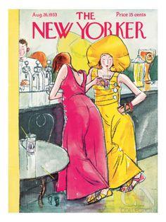The New Yorker Cover - August 26, 1933 Premium Giclee Print