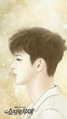 Fan art, shopping king Louie ❤ seo in guk