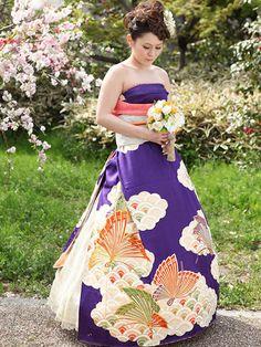 Les japonaises transforment leur kimono en robe de mariée  2Tout2Rien
