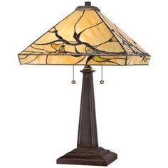 Organic Branches Robert Louis Tiffany Table Lamp | LampsPlus.com