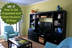 How To Get Organized and Clean House: Day Seventeen - Housewife How-To's®