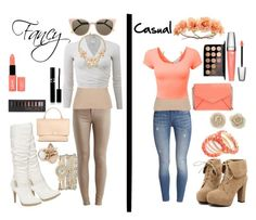 """""""Fancy and casual"""" by sarah-mathews-1 on Polyvore"""