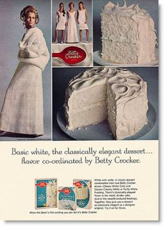 Image detail for -Vintage Betty Crocker Cake Mix Ad, October family Circle Retro Advertising, Retro Ads, Vintage Advertisements, Vintage Ads, Retro Food, Vintage Food, Vintage Stuff, Vintage Kitchen, Vintage Photos