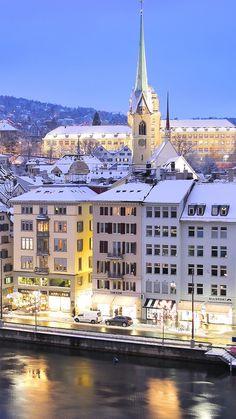 Limmat River, Zurich, Switzerland