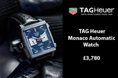 #TagHeuer #monaco chronograph calibre 11, 39mm automatic #watch Ref: CAW211P.FC6356 £3,780 https://www.cohenandmassias.com/product/tag-heuer-monaco-chronograph-calibre-11-39mm-automatic-watch-caw211p-fc6356/