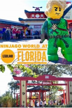 "Tour the new Ninjago World LEGOLAND Florida with an inside look at the 4D ride based on ""LEGO NINJAGO: Masters of Spinjitzu"" the martial arts TV show."