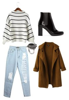 """""""Untitled #67"""" by mathilde-dz on Polyvore featuring Yves Saint Laurent, women's clothing, women, female, woman, misses and juniors"""