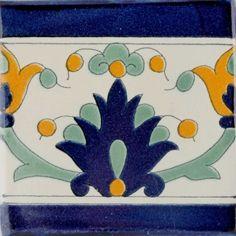 Arahal Border Terra Nova Hacienda Ceramic Tile