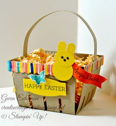 Berry Basket Easter Bunny Peeps