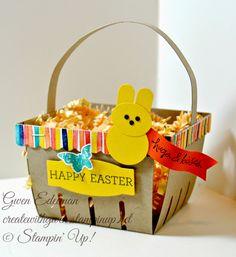 Berry Basket Easter Bunny Peeps