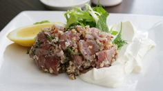 Bayte   56 Johnston Street, Collingwood (03) 9415 8818 - Middle Eastern. Try the raw yellowfin tuna kibbeh and bamieh bi zayt: spiced okra, tomato and olive oil stew with walnuts, long threads of thinly sliced chilli and fresh coriander.