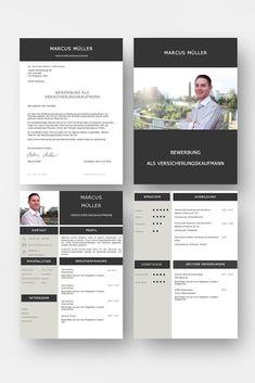Diese Bewerbungsvorlage ist modern strukturiert und signalisiert: Wer sich so präsentiert, verkauft auch sein künftiges Unternehmen erstklassig. Das sehen Personaler sofort. 4 Seiten als Download für Word und Pages. Enthält ein Deckblatt, Bewerbungsanschreiben, Lebenslauf mit Profil, CV Folgeseite, Ausbildung + weitere Erfahrung. Optimiert für Ausdruck und PDF-Export. Cv Template, Templates, It Cv, Resume Design, Marketing, Words, Creative, Cv Ideas, Event Posters