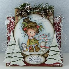 From My Craft Room: Walking In A Winter Wonderland