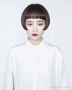 #short #bang #hairstyle