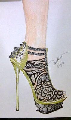 Shoe sketch 2.