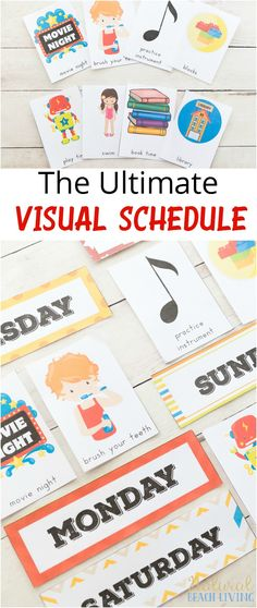 Daily Visual Schedule Cards Perfect for special needs, Autism, children that do best with a visual plan. Organization at home or school with FREE PRINTABLES, Daily Visual Schedule for keeping kids on task, Visual Schedule, Routine Cards for Kids, Special Needs, Visual Schedule Printable for home & school, Free Printable Picture Schedule Cards, Visual Schedule Printable, Autism Visual Schedule Printable, Daily Schedule for Kids, Picture Schedule Visual Schedule Printable, Visual Schedule Preschool, Visual Schedule Autism, Schedule Cards, Visual Schedules, Free Printables, Daily Routine Chart For Kids, Daily Schedule Kids, Toddler Schedule