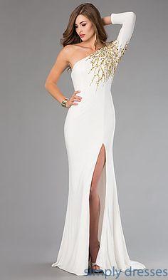 One Shoulder Xtreme Prom Dress