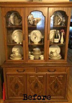 Modern Chic Curio Cabinet