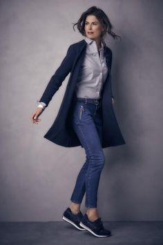 Purdey Mode | Purdey vestjasje katoen blauw