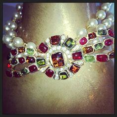 #rare #earlychanel #pouredglass #gripoix #paris #couture #pearls www.mdvii.com