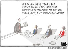 Marketoonist is the thought bubble of Tom Fishburne. Marketing cartoons, content marketing with a sense of humor, keynote speaking. Business Entrepreneur, Business Marketing, Content Marketing, Social Media Marketing, Digital Marketing, Friday Humor, Funny Friday, Sociology, New Media