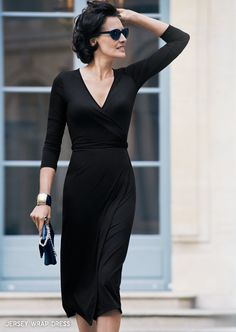Jersey Wrap Dress -                                                 Ines de la Fressange                                              for Uniqlo