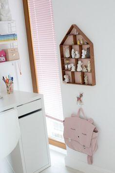 16 Girl Nursery, Girl Room, Pastel Nursery, Toddler Rooms, Shelves, Holiday Decor, Home Decor, Kids, Young Children