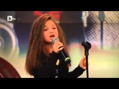 Krisia Todorova __Real Talent Little girl Singing Listen by Beyonce . Music Mix, Sound Of Music, Kinds Of Music, Music Is Life, My Music, Little Girl Singing, Little Girls, Junior Eurovision, Eurovision 2014