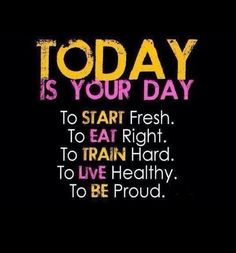 Today is your day quotes quote fitness workout motivation proud healthy exercise motivate fitness quote fitness quotes workout quote workout quotes exercise quotes train hard Fitness Home, Sport Fitness, Fitness Tips, Health Fitness, Fitness Goals, Dance Fitness, Free Fitness, Summer Fitness, Health Diet
