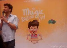 Chef Vikas Khanna at his Book Launch #TheMagicRollingPin