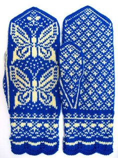 Рукавички с жаккардовым узором Fingerless Mittens, Knit Mittens, Knitting Socks, Knitting Stitches, Knitted Hats, Knitting Patterns, Mittens Pattern, Wrist Warmers, Butterfly Pattern