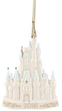 OMG... LOVE!  Lenox® Disney 2016 Cinderella's Castle Christmas Ornament