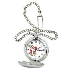 "Ewatchfactory Men's 56403-3477 Disney Grumpy Pocket Watch Ewatchfactory. $31.99. 18"" metal chain and loop. Disney ""Grumpy"" pocket watch. Water-resistant to 33 feet (10 M). Japan movement. Durable mineral crystal; 1-year limited warranty"