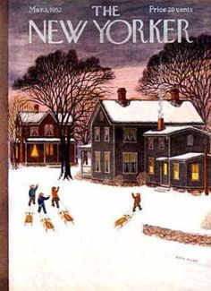 The New Yorker Cover ~ March 1, 1952