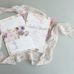 Amanda Michelle - Floribunda - Invitation Bundle. Shop now >>> http://www.amandamichelle.co.uk/product-category/save-the-date-and-invitations/